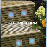 Wholesale IP67 Square LED Patio Light Set Waterproof Decking Light Kit Lights amp Connect