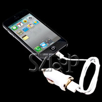 Wholesale 3 in Mini USB Data Sync Cable Line Car Charger Wall Charger power Adapter for iPhone5