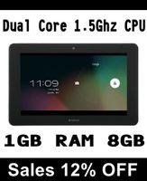 Wholesale 15 OFF Ainol Novo Crystal Tablet PC Inch MVA HD Screen Android Dual Core Ghz CPU GB RAM GB HDMI WIFI Camera