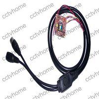 CCD Indoor  Mini HD Effio-E Sony 700TVL Security PCB CCTV Color camera Module 28*28mm OSD Cable