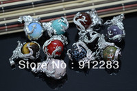 Wholesale Hot Sell Fashion Silver Dragon Round Balls Metal Necklace Pendant Fashion Necklace Pendant