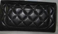 best travel totes - Designer women Cluth CH leather cluth best cheap travel casual bag or wallets sheepskin wallets barginning prices