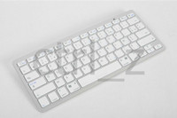 Wholesale Fashion Wireless Bluetooth Keyboard for iPad IPAD AIR MINI iPhone S PC Macbook Super Light Portable Keyboard
