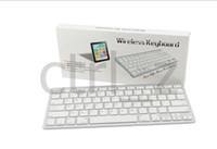 Wholesale White Bluetooth Wireless Keyboard For iPad nd New rd th Gen Mini Macbook Mac