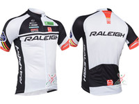Wholesale raleigh ciclismo jersey bmx short sleeves bike shirt raleigh jersey cycling white