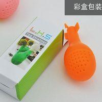 Wholesale 120PCS Interesting Atomic bomb Shape Tea Filter Device Tea Holders Make Tea Tools Household Items