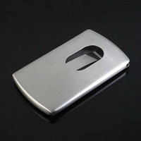 Wholesale Stainless Steel Instant Slide Out Business Credit Card ID Card Holder Classic Design Name Card Holder Worldwide