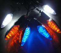 Wholesale Universal LED Turn Signal Motorcycle Parts Lighting Motorcycle Turn Signal Light Indicator Bulbs by china post