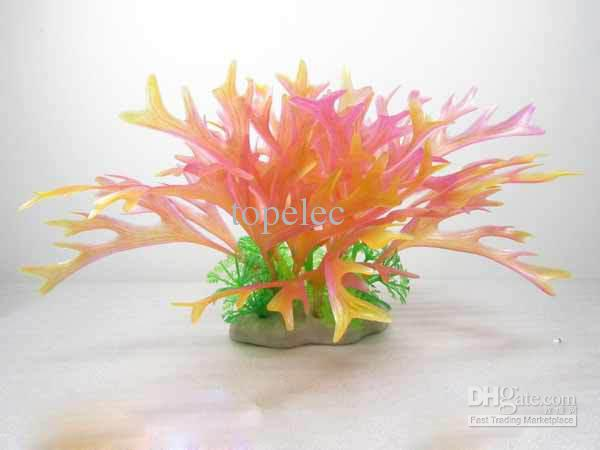 Fish tank decoration aquarium decoration artificial plants for Artificial kelp decoration