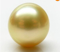 Wholesale AAA round mm Australian south sea gold pearl undrilled