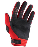 Wholesale red fox gloves bicycle Motorcycle bike Cycling Racing Gloves full finger outdoor