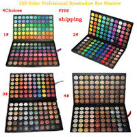 Wholesale 120 Color Professional Eyeshadow Palette Eye Shadow Make Up Fashion Makeup Color Cosmetics Palette F