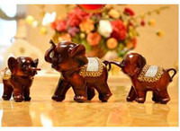 Wholesale ceramic elephant home furniture table desk office decor decoration Housewarming weddin