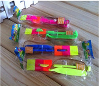 Wholesale color mixed amazing arrow helicopter light up flying arrow new product new toy hot products flying arrow