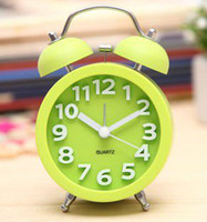 Wholesale Alarm Clock Hot Sale Twin Bell TabelClock Beautiful Table Alarm Clock