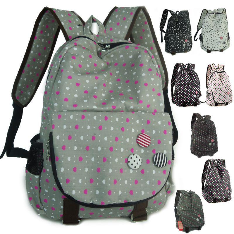 Sweets nobility casual backpack middle school students school bag ...