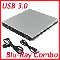 Wholesale USB3 External Blu Ray Combo Disc Player ODD HDD Drive DVD CD Burner Reader Laptop PC USB External BD ROM