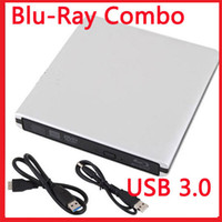 Wholesale External USB Blu ray Combo Disc Player ODD HDD Drive DVD CD RW Burner Writer