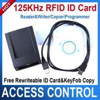 Wholesale 125KHz RFID ID Card Reader Writer Copier Programmer Rewritable ID Card KeyFob COPY