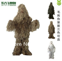 Wholesale Outdoor sports equipment store Ghillie suit Camouflage suit hunting clothing Woodland