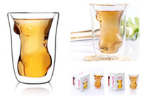 Glass ECO Friendly Crystal  Crystal Naked Women Vodka Whiskey Milk Coffee Cup Mug Glass Beer Party Club Bar