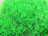 Wholesale Soft artificial turf aquarium decoration fish tank lawn T9295