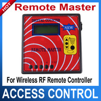 Wholesale Remote master Rf remote duplicator Frequency counter suitable for key lock shop locksmith