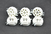Wholesale ceramic Silver plated pin tube socket FOR EL34A KT88