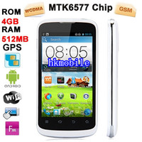 Android with WiFi Thai ZTE V889F White, GPS + AGPS, Android 4.0.4 Version, CPU Chip: MTK6577 Cortex A5, 1.2GHZ Dual Core MSM8225, ROM: 4GB , RAM:512MB, 4.0 inch