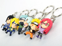Wholesale Naruto Toy Key Chain Ring Charm Holder toy doll