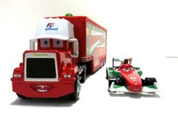 Wholesale trucks Pixar Cars alloy and plastic Francesco Bernoulli toy car plastic Mack truck toy