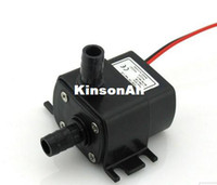 Wholesale 12V Mini DC Pump LPH M W Submersible Super long life gt hours Fountain Aquarium Wat