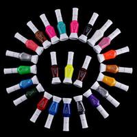 Wholesale 24 Colors Ways Nail Art Brush amp Nail Pen Varnish Polish Nail Tools Set