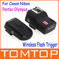 Wholesale 16 Channels Radio Wireless Remote Speedlite Flash Trigger for Canon Nikon Pentax Olympus D849