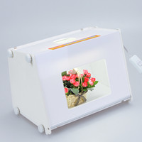 Photo Studio photo box - Portable SANOTO quot x8 quot Mini Kit Photo Photography Studio Light Box Softbox MK30 D840