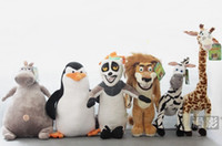 Wholesale Madagascar different Styles Gifts Plush Toys Giraffe Melman Plush Doll
