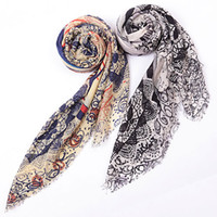 Wholesale New Office Lady Printing Cashmere Wool Square Head Scarves Pashmina Shawl Scarf For Women