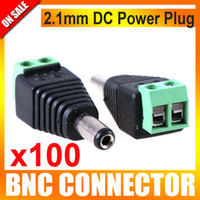 Male 100pcs UTK-DC-G01 100pcs lot CCTV DC Power Jack Adapter Connector Plug CCTV Accessories