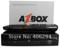 Wholesale Azbox Bravissimo Satellite Receiver Twin Tuner Support Nagra3 Decoder Az Box Bravissimo HD Linux OS GA3024