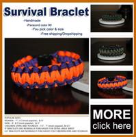 Other nylon rope - Survival bracelet nylon rope bracelet braided rope bracelets