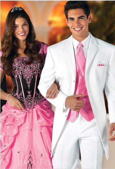 Pink Prom Suit - Ocodea.com