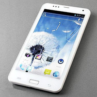 Wholesale dual camera dual sim card Dual Core G WCDMA MTK6577 Android GPS bluetooth inch P6 note best cell phone new brand