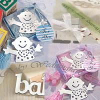 Free Shipping+ 50pcs lot! Baby design Bookmark shower with El...
