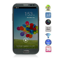 Wholesale Feiteng S4 Android MTK6589 Quad Core Smart Phone with HD IPS LCD Screen MP Front Camera G GPS
