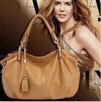 Wholesale Hot NEW Fashion High Quality Brand Name Designer Bags Genuine Leather Bag Women s Tote Shoulder Handbag