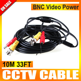 Wholesale 10M BNC Video Power Cable for CCTV DVR Surveillance Security Camera