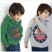 3--9 100--140 Gray Kids 68 Hoodies Autumn winter boys sweater Children Clothes Kids Hoodies Boy Hoody baby Hoody Coat cool design