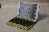 Wholesale Bluetooth Keyboard For Apple iPad Mini M9 with green colour retail lotIMX007
