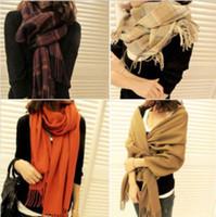 Wholesale New Autumn and winter Fashion Elegant Girls Scarf Women s Long Soft Wrap Shawl Stole Hot Section LF001