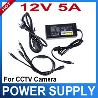 Wholesale 4 Port V DC Pigtail Power Supply for CH CCTV Camera